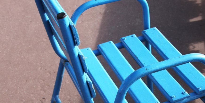 Chaise bleue - Cannes