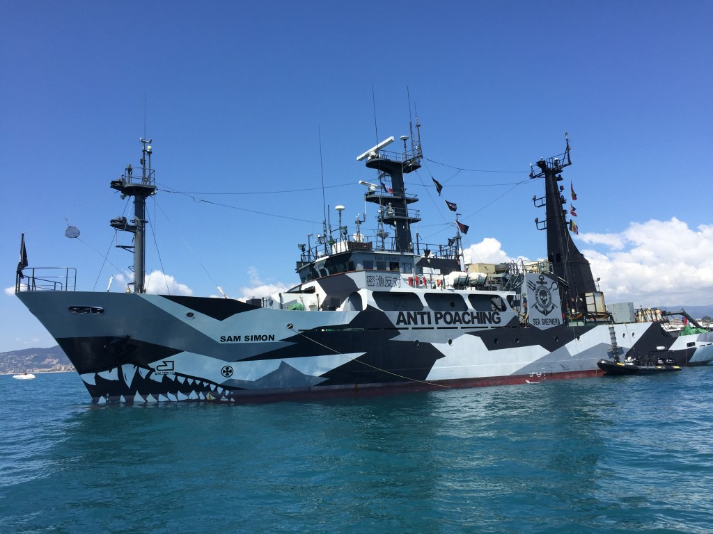 Le Sam Simon, Sea Shepherd