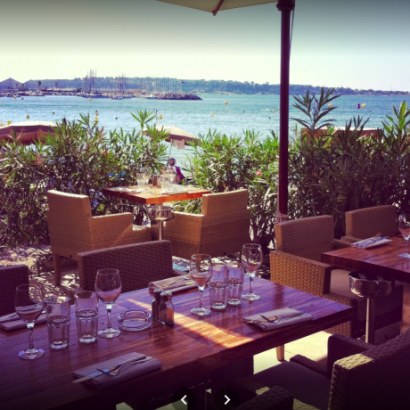 brunch plage l ecrin Cannes