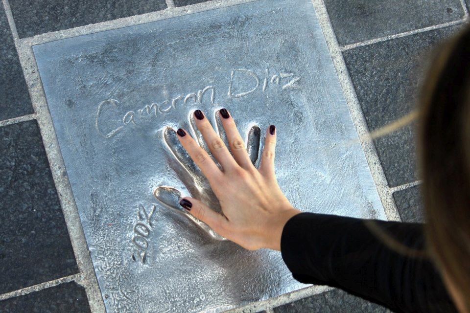 The Chemin des Étoiles, the hand prints of stars who have passed through Cannes